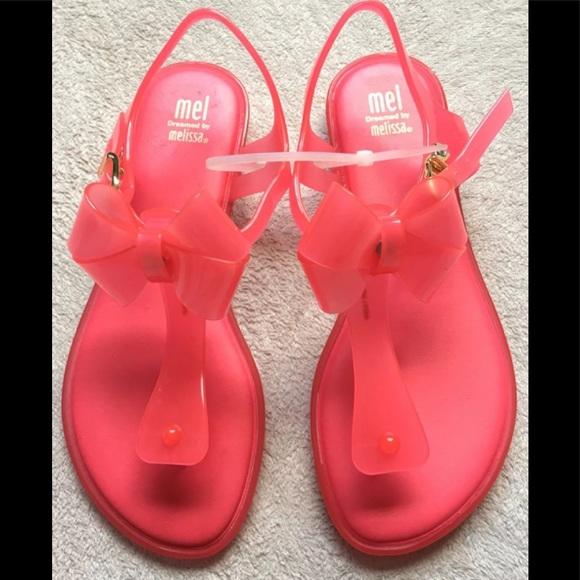 1a4f68d0c85 Mini Melissa Girls Slingback Sandals Size 3